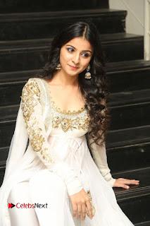 Telugu Actress Mahima Makwana Stills in White Desginer Dress at Venkatapuram Movie Logo Launch  0195.JPG