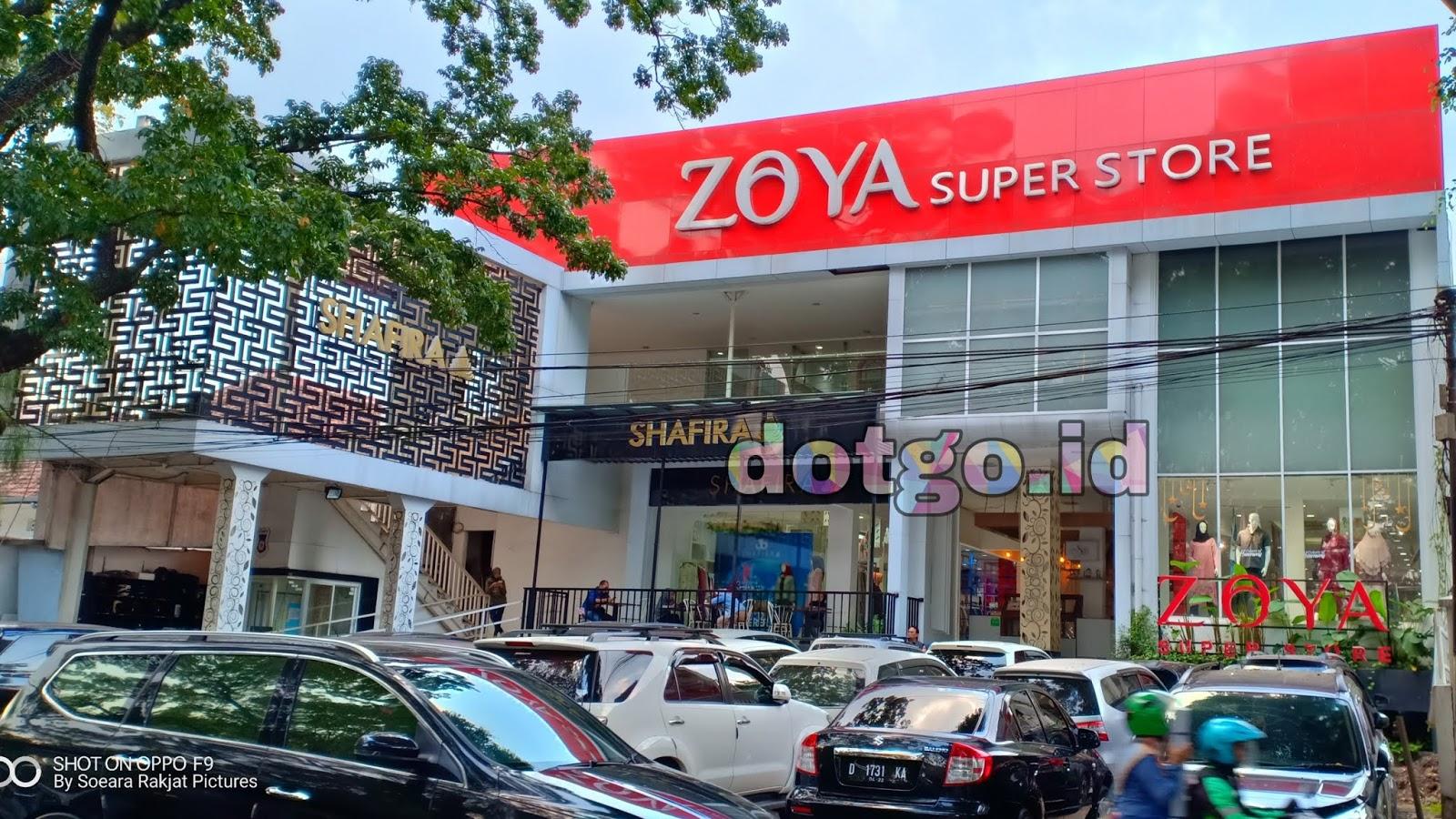 Belanja Baju Muslim Murah di Zoya Super Store Bandung ...