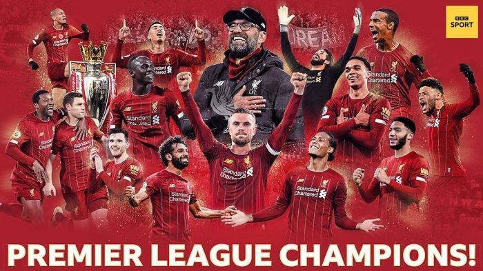 Klasemen akhir liga Inggris 2020