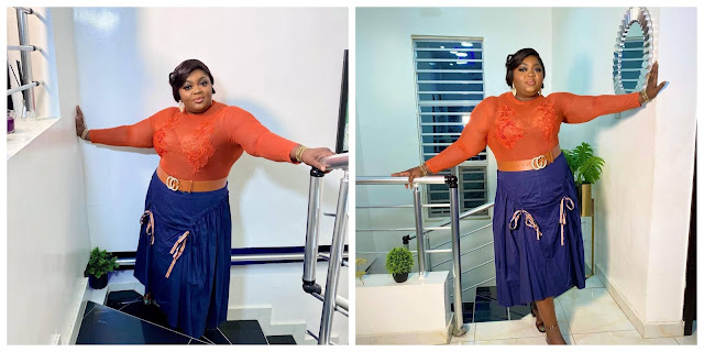 I'm a big deal- Actress Eniola Badmus brags as she celebrates 20 years in Nollywood (Photos)