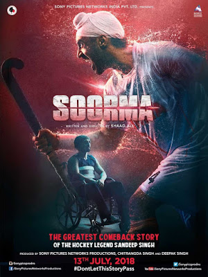 Soorma 2018 Hindi 480p BluRay 350MB