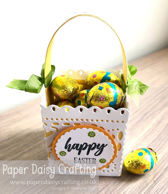 Jubilee Beauty Stampin Up Easter box