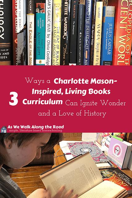 Charlotte Mason- inspired history curriculum