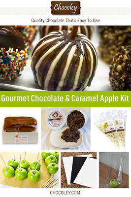 Chocolate and Caramel Apple Kit%B%%