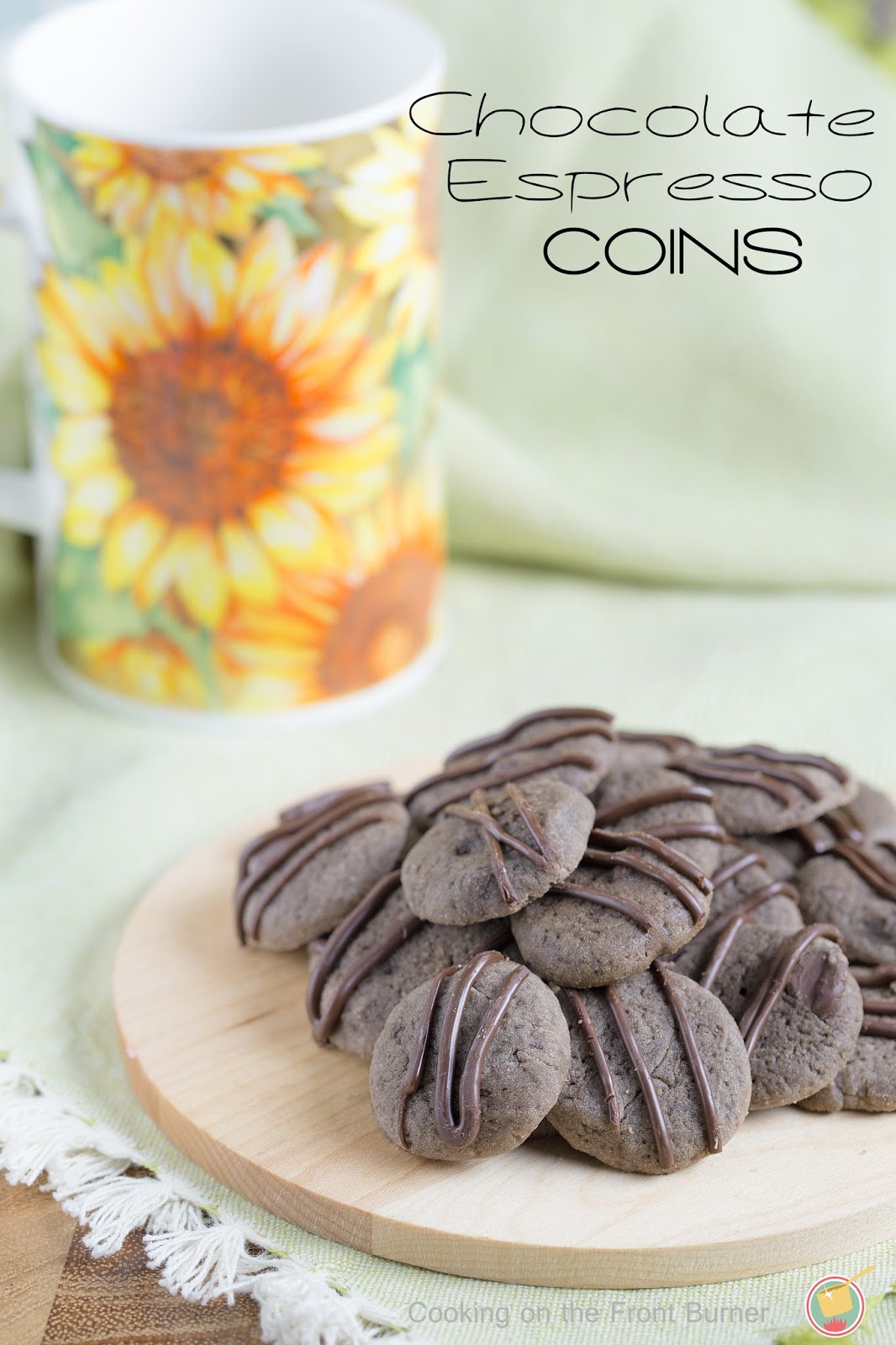 Chocolate Espresso Coins | Cooking on the Front Burner