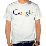 Kaos Distro Pria Google SK57 Asli Cotton