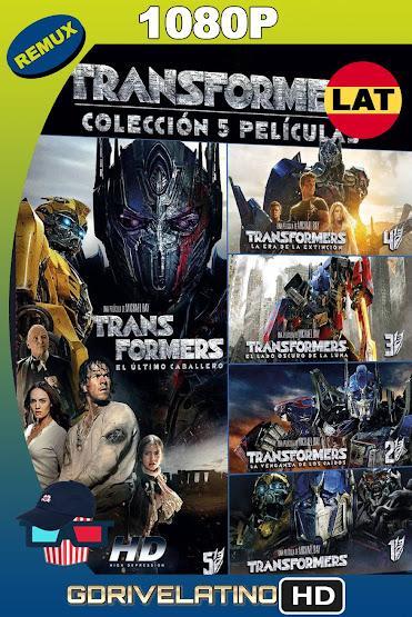 Transformers (2007-2017) Saga Completa REMUX 1080p Latino-Ingles MKV