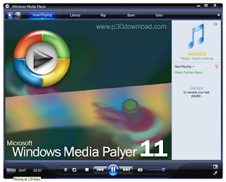 WINDOW MEDIA PLAYER 11 Cover Photo
