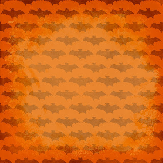 halloween bat scary background paper scrapbook page image