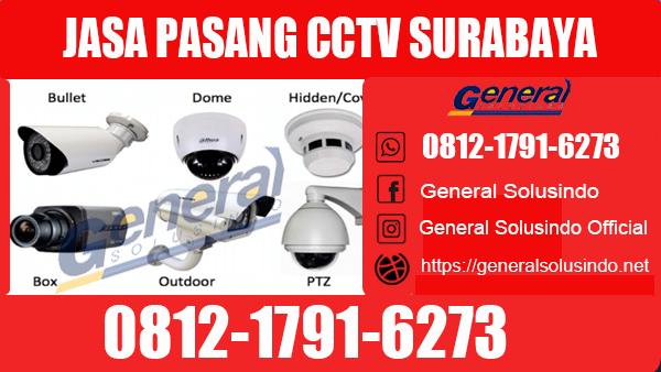 Jasa Pasang CCTV Tegalsari Surabaya