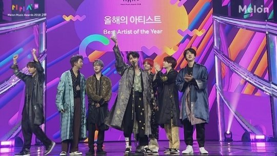 Bts Wins 7 Crowns At The 2018 Melon Music Awards Including Best