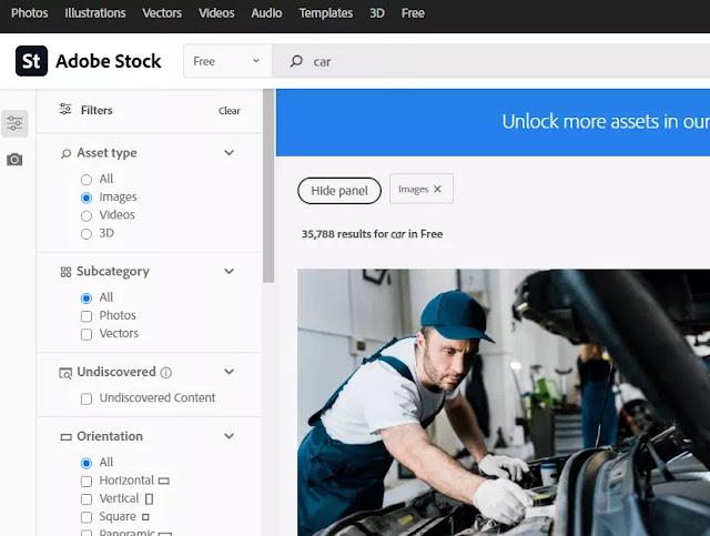 Cara Download Gratis Gambar, Video dan Ilustrasi di Adobe Stock-2