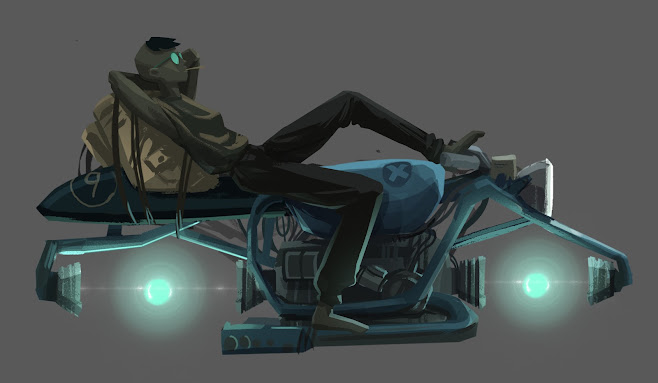 Hoverbike by Sascha Altschuler