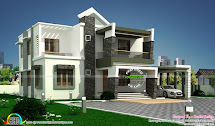 Modern Contemporary Home 400 Sq-yards - Kerala Design