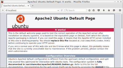 How to install Apache web server on Lubuntu