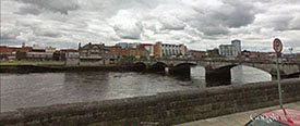 The River Shannon, Limerick