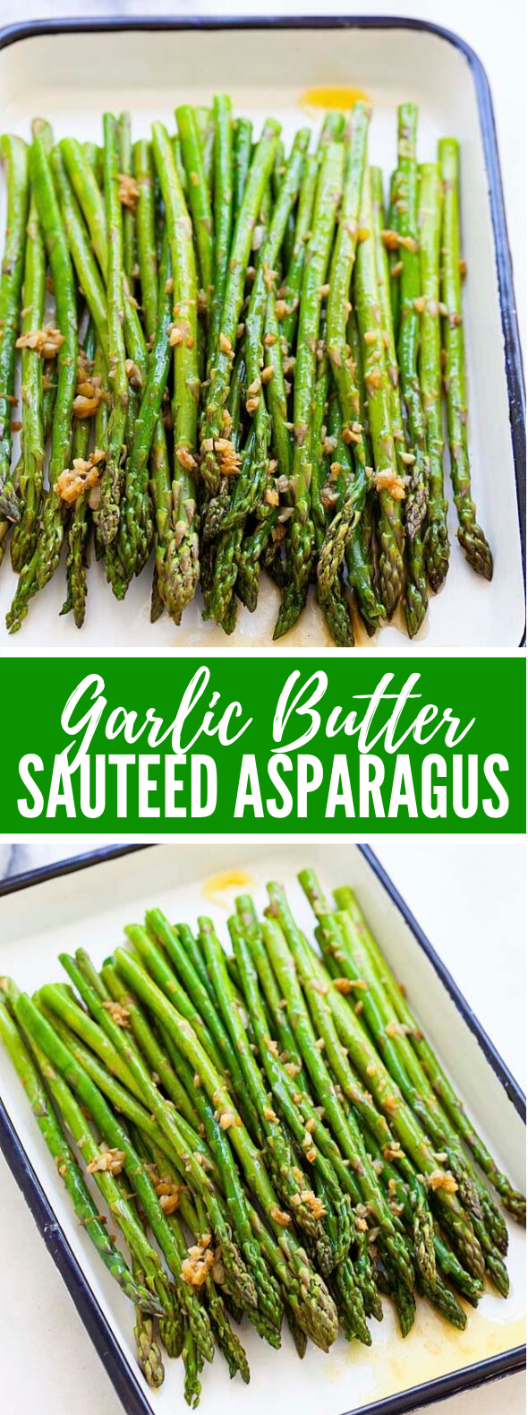 Garlic Butter Sauteed Asparagus #veggies #dinner