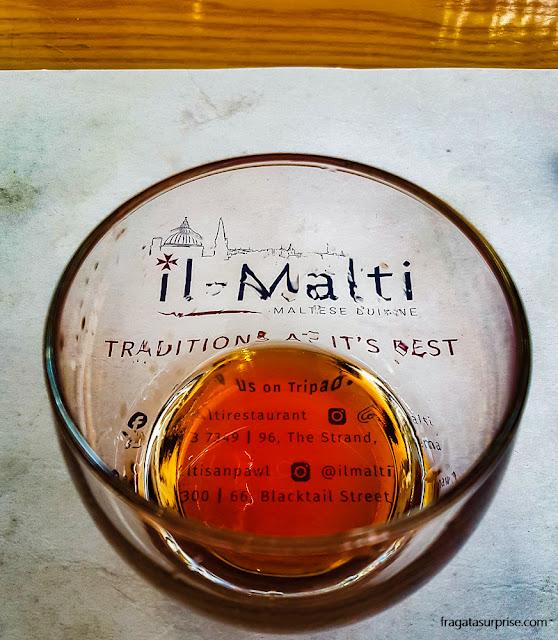 Licor de Romã, Malta