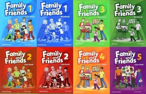 تحميل كتاب family and friends 4