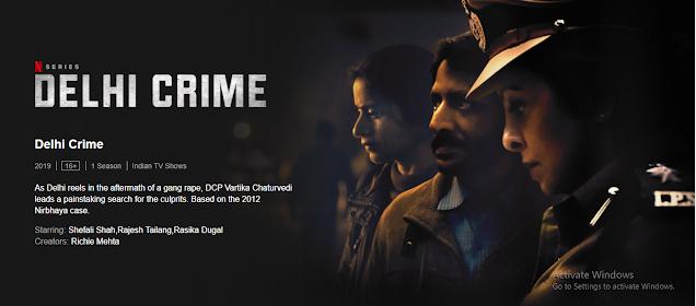 Delhi Crime, Delhi Crime Web Series, Hindi Web Series, Crime Web Series, Hindi Web Series