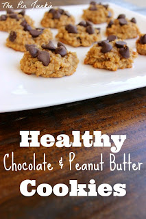 skinny chocolate peanut butter cookies