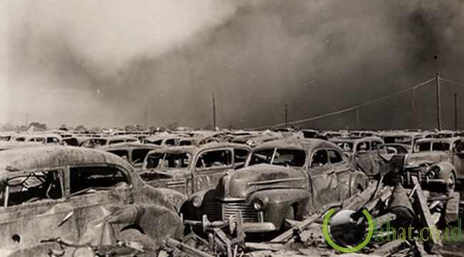 Ledakan Reaksi Berantai di Texas City