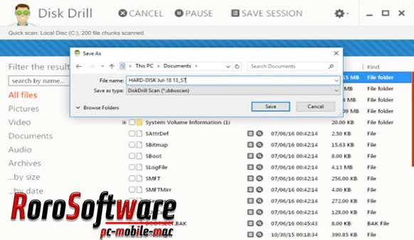طريقة تثبيت برنامج Disk Drill 4.0.518 Professional with activation.