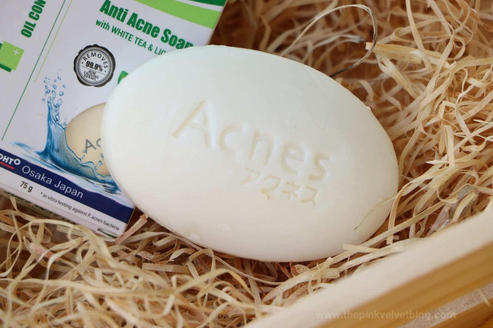 Rohto ACNES Oil-Control Anti-Acne Soap Review