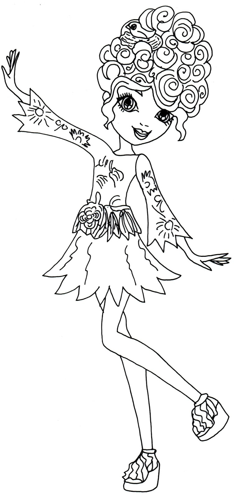 Ever After High Coloring Pictures To Pin On Pinterest