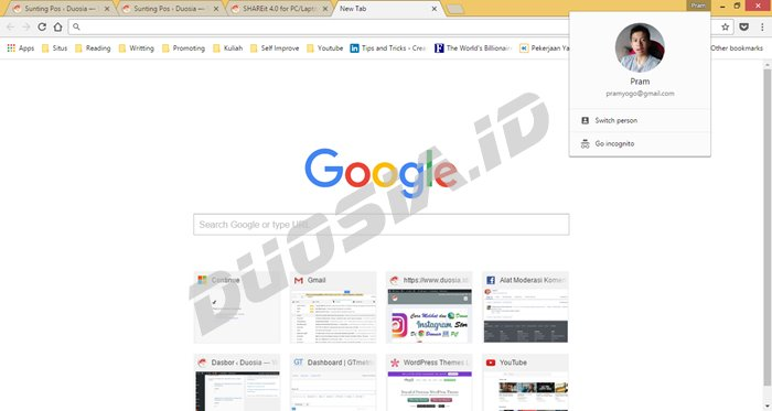 Screenshot Google Chrome Offline Installer