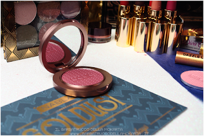 SATELLITE OF LOVE packaging Blush Blossom   goldust collection Nabla cosmetics