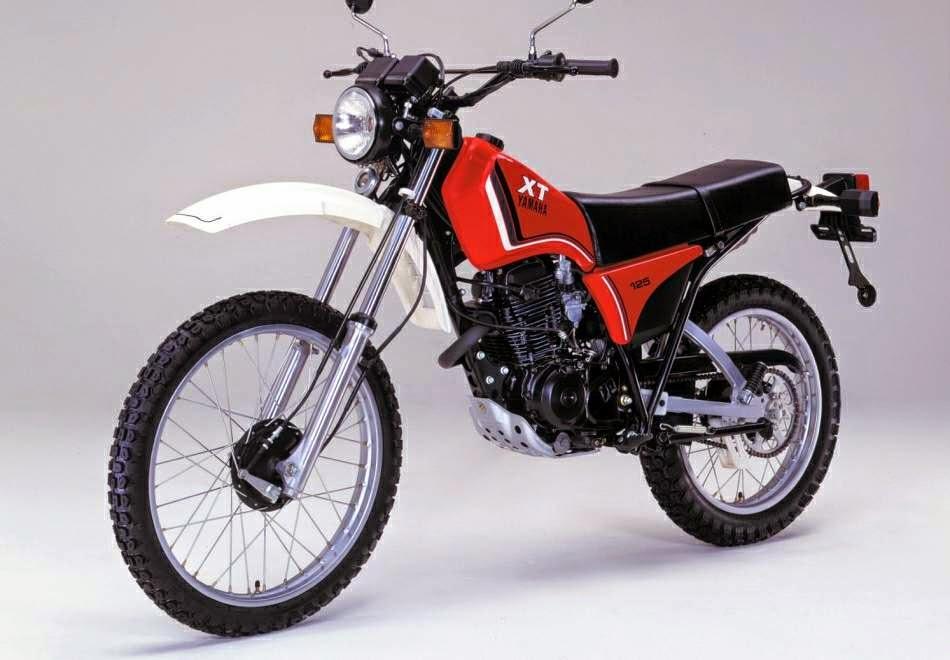 Yamaha XT125X XT125R Owners Blog : Yamaha XT 125 Model History