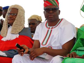 Ayodele Fayose: I am not Afraid of Buhari I'm ready if he come after me ----
