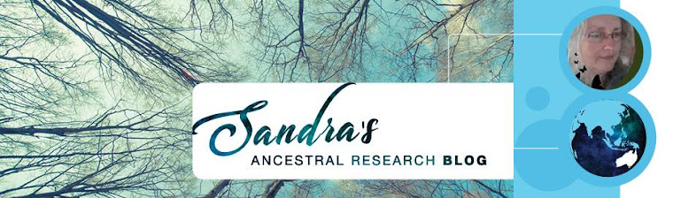 Sandra's Ancestral Research Journal