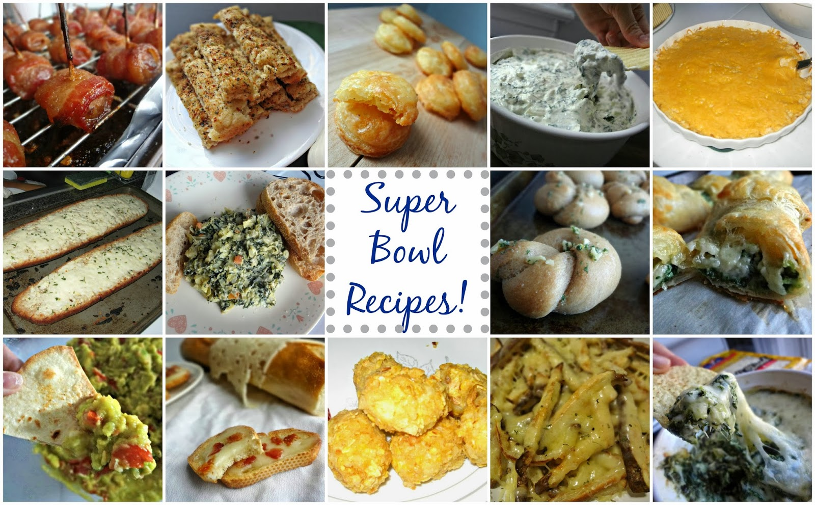 Super Bowl Recipe Ideas