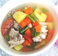 Resep Sop Ayam Bening Gurih dan Nikmat