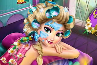 Elsa Mountain Resort Spa Frozen Online Games