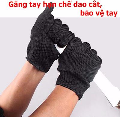 găng tay chống dao