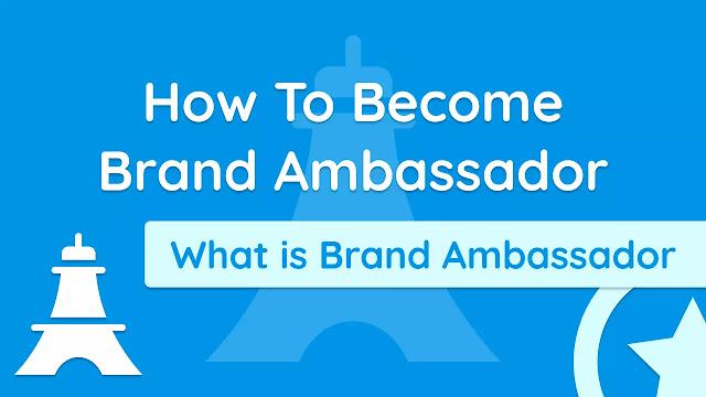 Brand Ambassador बनाने के Best Way | Brand Ambassador क्या है - in HINDI