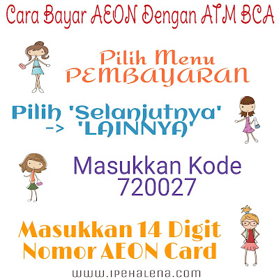 Bayar Aeon ATM BCA