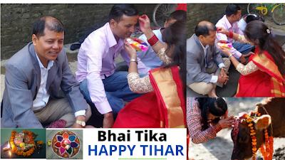 Tihar is a Major festival of Nepal