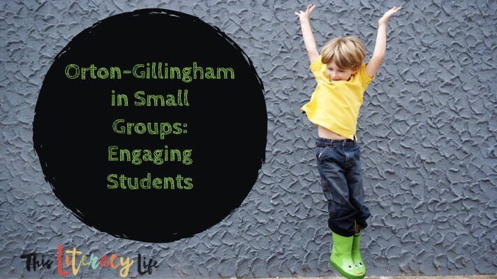 Making Orton-Gillingham instruction fun can be a challenge, but these ideas will keep it fresh and fun for all of your students in small groups.