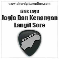 Lirik Lagu Langit Sore Jogja Dan Kenangan Lyrics