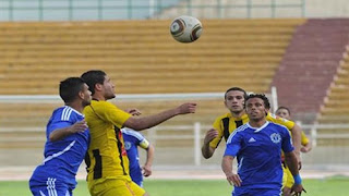 مباراة المقاولون العرب وسموحة فى الدوري المصري