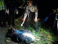 Warga Ngebel di Hebohkan Penemuan Mayat Tergeletak di Jalan Ds Ngrugong