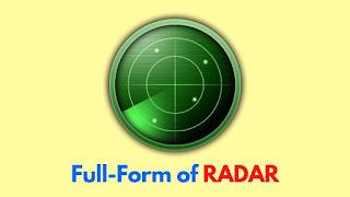 Full-Form-of RADAR