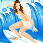 لعبة التزلج على البحر