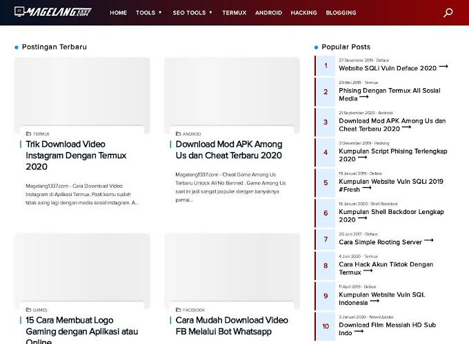 Menariknya Blog Magelang 1337 yang Menyajikan Informasi Teknologi Terbaru