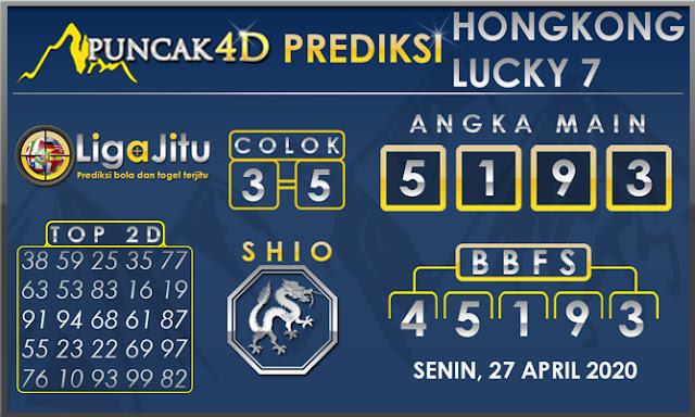 PREDIKSI TOGEL HONGKONG LUCKY 7 PUNCAK4D 27 APRIL 2020