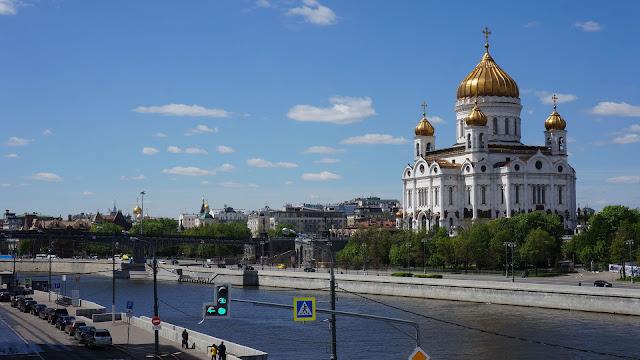 Фото Храма Христа Спасителя - вид с моста